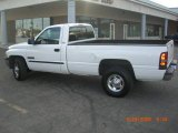 2001 Bright White Dodge Ram 2500 ST Regular Cab #10882541