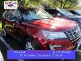 2016 Ruby Red Metallic Tri-Coat Ford Explorer XLT #108864515