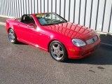 2001 Magma Red Mercedes-Benz SLK 230 Kompressor Roadster #1085862
