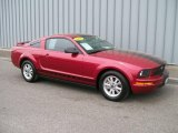 2006 Redfire Metallic Ford Mustang V6 Premium Coupe #1085873