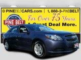 2013 Blue Topaz Metallic Chevrolet Malibu LS #108921711