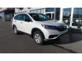 2016 White Diamond Pearl Honda CR-V LX AWD #108940674