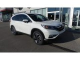 2016 White Diamond Pearl Honda CR-V Touring AWD #108940673