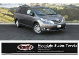 2015 Predawn Gray Mica Toyota Sienna Limited AWD #108940546