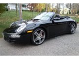 2008 Black Porsche 911 Carrera 4S Cabriolet #108940594