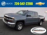 2016 Slate Grey Metallic Chevrolet Silverado 1500 LT Crew Cab 4x4 #108940846