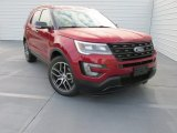 2016 Ruby Red Metallic Tri-Coat Ford Explorer Sport 4WD #108972188