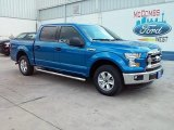 2015 Blue Flame Metallic Ford F150 XLT SuperCrew #108972060
