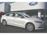 2016 White Platinum Tri-Coat Metallic Ford Fusion SE #108972138