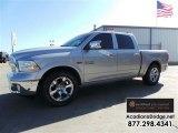 2014 Bright Silver Metallic Ram 1500 Laramie Crew Cab #109001543