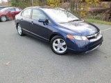 2007 Royal Blue Pearl Honda Civic EX Sedan #109001568