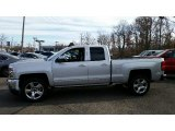 Silver Ice Metallic Chevrolet Silverado 1500 in 2016