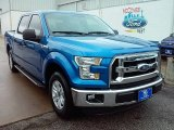 2015 Blue Flame Metallic Ford F150 XLT SuperCrew #109024581