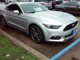 2016 Ingot Silver Metallic Ford Mustang EcoBoost Coupe #109024601