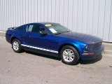 2006 Vista Blue Metallic Ford Mustang V6 Premium Coupe #1085860
