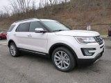 2016 White Platinum Metallic Tri-Coat Ford Explorer Limited 4WD #109040542