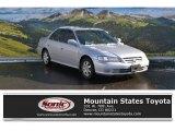 2002 Satin Silver Metallic Honda Accord EX Sedan #109062082