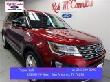 2016 Ruby Red Metallic Tri-Coat Ford Explorer XLT #109062137
