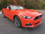 2016 Ford Mustang Competition Orange