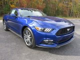 2016 Deep Impact Blue Metallic Ford Mustang EcoBoost Coupe #109062397