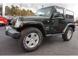 2010 Jeep Wrangler Natural Green Pearl