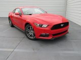 2016 Race Red Ford Mustang EcoBoost Premium Coupe #109089676