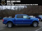 2016 Blue Flame Ford F150 XLT SuperCrew 4x4 #109089557