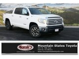 2016 Super White Toyota Tundra Limited CrewMax 4x4 #109089427