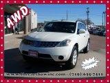 2007 Glacier Pearl White Nissan Murano S AWD #109089666