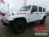 2016 Bright White Jeep Wrangler Unlimited Rubicon Hard Rock 4x4 #109089651