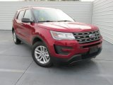2016 Ruby Red Metallic Tri-Coat Ford Explorer FWD #109089680