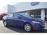 2016 Deep Impact Blue Metallic Ford Fusion SE #109113880