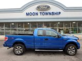 2012 Blue Flame Metallic Ford F150 STX SuperCab 4x4 #109113932