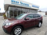 2012 Basque Red Pearl II Honda CR-V EX-L 4WD #109113927