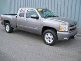 2007 Graystone Metallic Chevrolet Silverado 1500 LTZ Extended Cab 4x4 #10900588