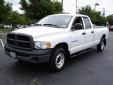 2003 Bright White Dodge Ram 1500 ST Quad Cab 4x4 #10893034