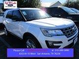 2016 White Platinum Metallic Tri-Coat Ford Explorer XLT #109146898