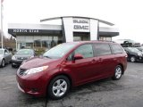 2012 Salsa Red Pearl Toyota Sienna LE #109147119