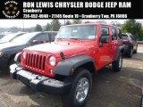 2016 Firecracker Red Jeep Wrangler Unlimited Sport 4x4 #109147005