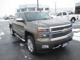 2014 Brownstone Metallic Chevrolet Silverado 1500 High Country Crew Cab 4x4 #109147240