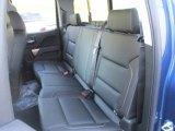 2016 Chevrolet Silverado 1500 LTZ Double Cab 4x4 Rear Seat
