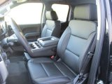 2016 Chevrolet Silverado 1500 LTZ Z71 Double Cab 4x4 Jet Black Interior
