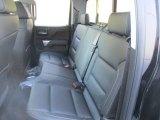 2016 Chevrolet Silverado 1500 LTZ Z71 Double Cab 4x4 Rear Seat