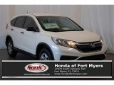 2016 White Diamond Pearl Honda CR-V LX AWD #109146833