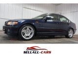 2003 Orient Blue Metallic BMW 3 Series 330i Sedan #109187150