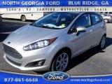2015 Ingot Silver Metallic Ford Fiesta SE Hatchback #109187142
