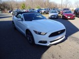 2016 Oxford White Ford Mustang V6 Convertible #109205827