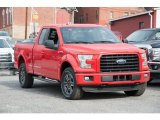 2016 Race Red Ford F150 XLT SuperCab 4x4 #109210858