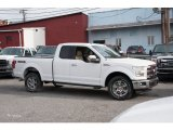 2016 Oxford White Ford F150 Lariat SuperCab 4x4 #109210857