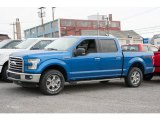 2016 Blue Flame Ford F150 XLT SuperCrew 4x4 #109210855